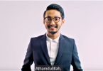 Singer Sufian Suhaimi, urging Malaysians to go out and vote this coming General Election