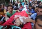 dead palestinian