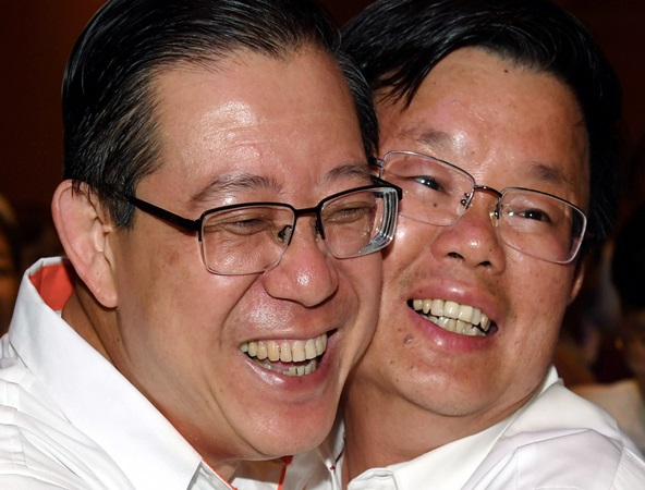 Lim Guan Eng and Chow Kon Yeow