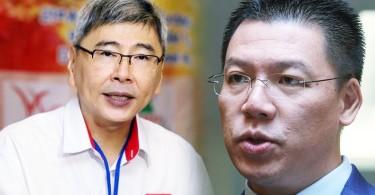 Datuk Seri Mah Siew Kong and Nga Kor Meng are facing off in Teluk Intan for GE14