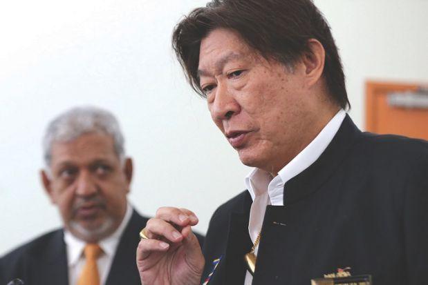 Tourism Malaysia chairman Datuk Dr. Siew Ka Wei.