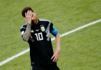 Lionel Messi, the game's master magician who is yet to lift a senior international trophy, looked like the weight of the world was on his shoulders as he missed a penalty against Iceland.