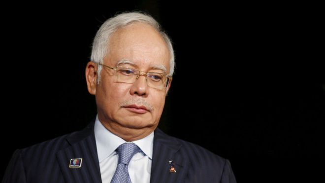Najib arrested at home on July 3 and will be charged the day after.