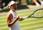 Kerber will play in her second Wimbledon final.