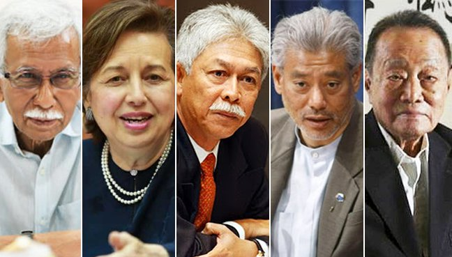Members of Council of Eminent Persons : Tun Daim Zainuddin, Tan Sri Dr Zeti Akhtar Aziz, Tan Sri Hassan Marican , Professor Jomo Kwame Sundaram and Tan Sri Robert Kuok