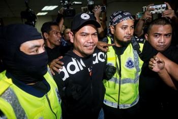 Jamal is all smiles despite being denied bail.