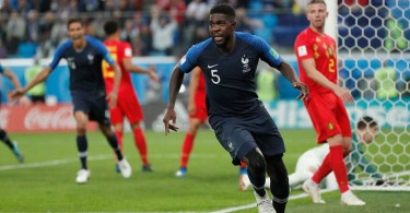 Umtiti -- France's semi-final hero.