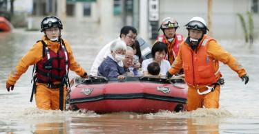 japan flood