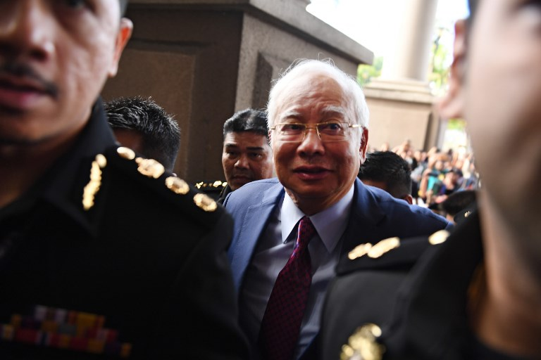 najib charged