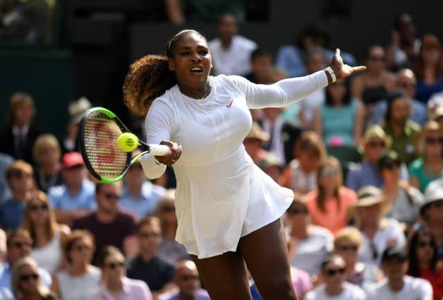 Williams is in her 10th Wimbledon singles final.