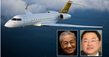 "Mahathir (left) and ""Fats"". The jet next?"