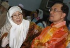 Datuk Seri Dr Wan Azizah Wan Ismail and Datuk Seri Anwar Ibrahim