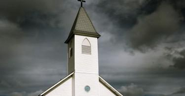 church storm