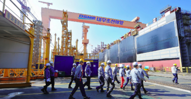 "South Korea government has designated five shipbuilding regions as ""industry crisis special areas,"" namely Geoje, Jinhae, Mokpo, Tongyeong and Ulsan."