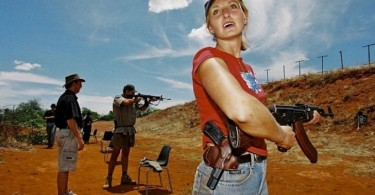 Some white farmers in South Africa are arming themselves to defend their land.
