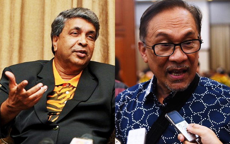 By quitting his seat, Danyal (left) has opened the first door to allow Anwar to return to Parliament.