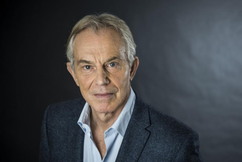 Blair was Britain's prime minister for 10 years from 1997.