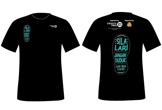 Participants of the run will get this T-shirt.