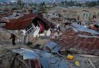 The destruction in the Balaroa sub-district of Palu.