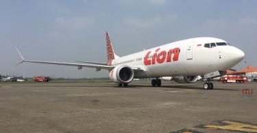 A Lion Air's Boeing 737 MAX 8