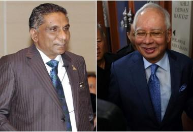 Irwan (left) and Najib