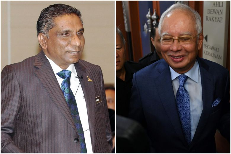 Irwan (left) and Najib