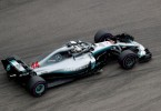 Lewis Hamilton enroute to win the Russian Grand Prix yesterday.