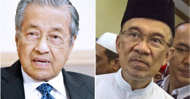 Mahathir (left) and Anwar agreed to forget the past for the sake of ousting Najib and moving forward.