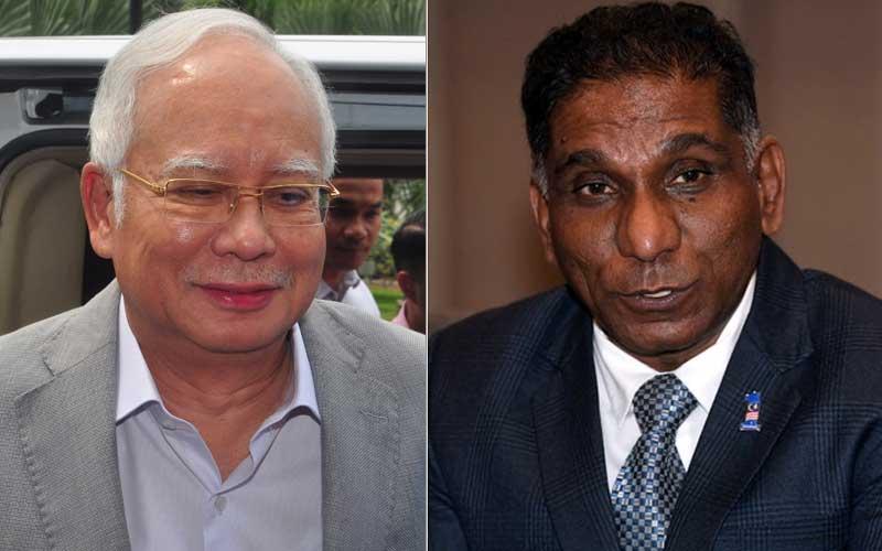 Najib (left) and Irwan