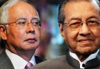 Mahathir takes aim at Najib (left) for abusing the system of government in a way no PM before him did.