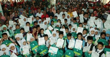 A Back to School programme held in Sabah two years ago.