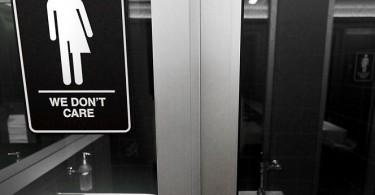 LGBT toilet