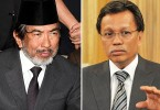 Round 1 in court has gone Shafie's (right) way.