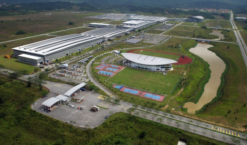 The Proton plant in Tanjung Malim.
