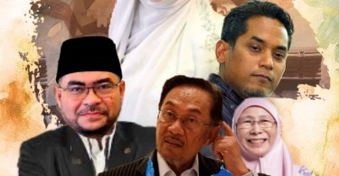 The whimsically fake promotional poster of the fake TV series that was crafted a political satire group on Facebook, the Tentera Troll Kebangsaan.