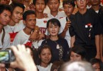 Aung San Suu Kyi was once the idol of Myanmar youth activists.