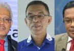 Three of the MPs who have deserted Umno.