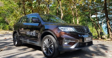 Proton X70 Premium, cinnamon-brown