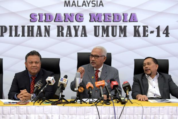 A press conference by the former EC chairman.