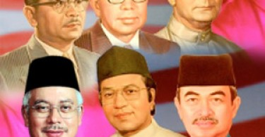 All of Malaysia's seven PMs, including Mahathir (centre, foreground) were duly chosen by the MPs.