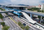 Taman Mutiara Cheras MRT station was where a woman got assaulted and robbed recently.