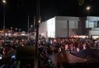Locals gathered around Najib in Tesco Semenyih