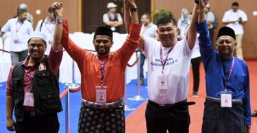 PSM's Nik Aziz Afiq Abdul,, PH's Muhammad Aiman Zainali, independent Kuan Chee Heng and BN's Zakaria Hanafi.