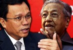 Tun Dr Mahathir Mohamad and Datuk Seri Shafie Apdal