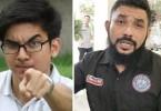 Syed Saddiq Syed Abdul Rahman and Wan Muhammad Azri Wan Deris