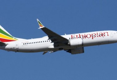 An Ethiopian Airlines' Boeing 737 MAX 8