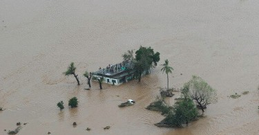 Cyclone Idai dumped a lot of water in three countries.