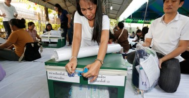 Allegations of irregularities throw Thai election results into chaos.
