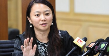 Deputy Minister of Family, Women and Community Development Hannah Yeoh