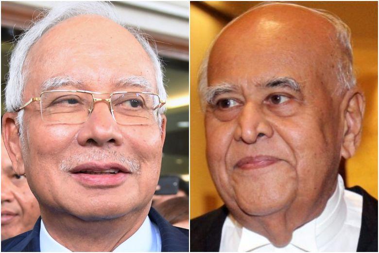 Najib (left) and Sri Ram